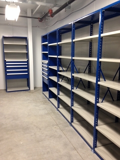 Steel Shelving Units for Parts