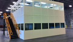 Modular Offices in an industrial warehouse