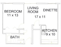 Apt 11 Floor Plan