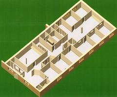 Suite 5 - Floor Plan-3D
