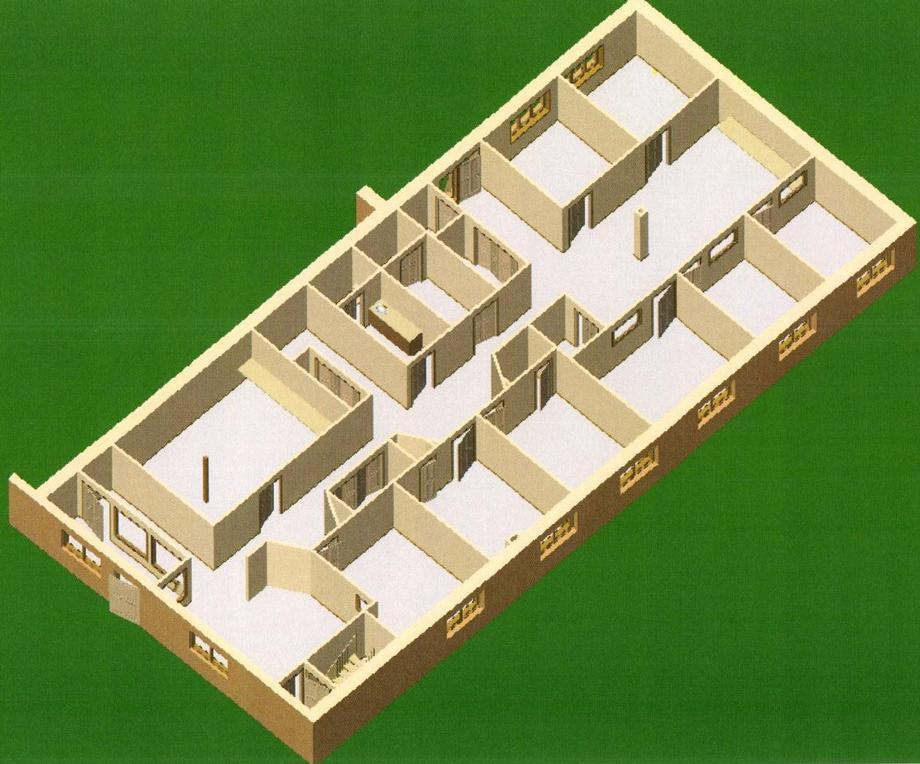 Suite 5 - Floor Plan-3D
