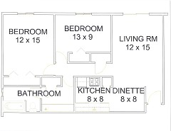 Apt# 9 Floor Plan