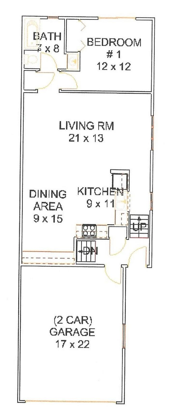 210-22 Upper Floor Plan