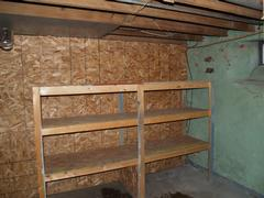 Storage Area in Basement