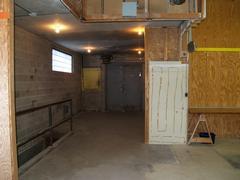 Front door - left side