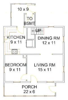 Floor Plans, first floor