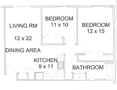 Apt# 10 Floor Plan