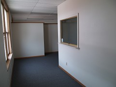 Suite 210, Front Office of 2 Office Suite