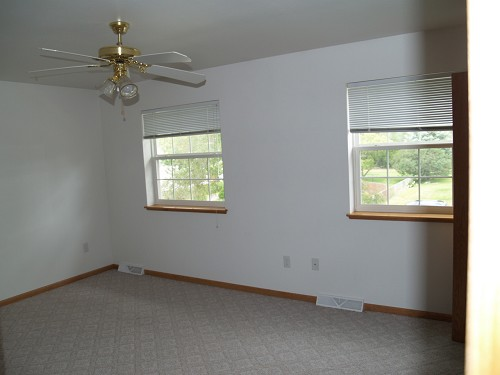 Unit B Larger of 2 Bedrooms (Unit A Very Similar)