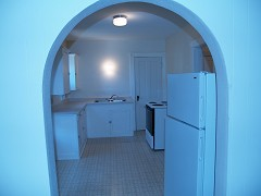 Upper Unit Kitchen (from living room)