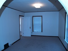 Upper Unit Living Room (from kitchen looking west)
