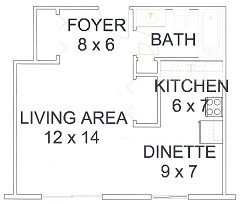 Apt# 4 Floor Plan