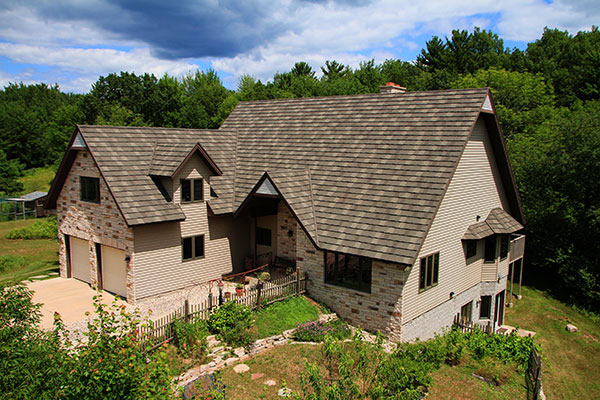 Residential roofing in Rib Mountain, WI