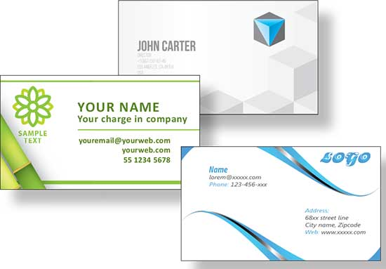 Business Card Printing in Central Wisconsin