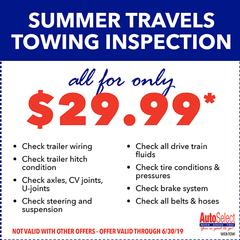 Hurry! Best Auto Repair Specials at an Auto Select near you!