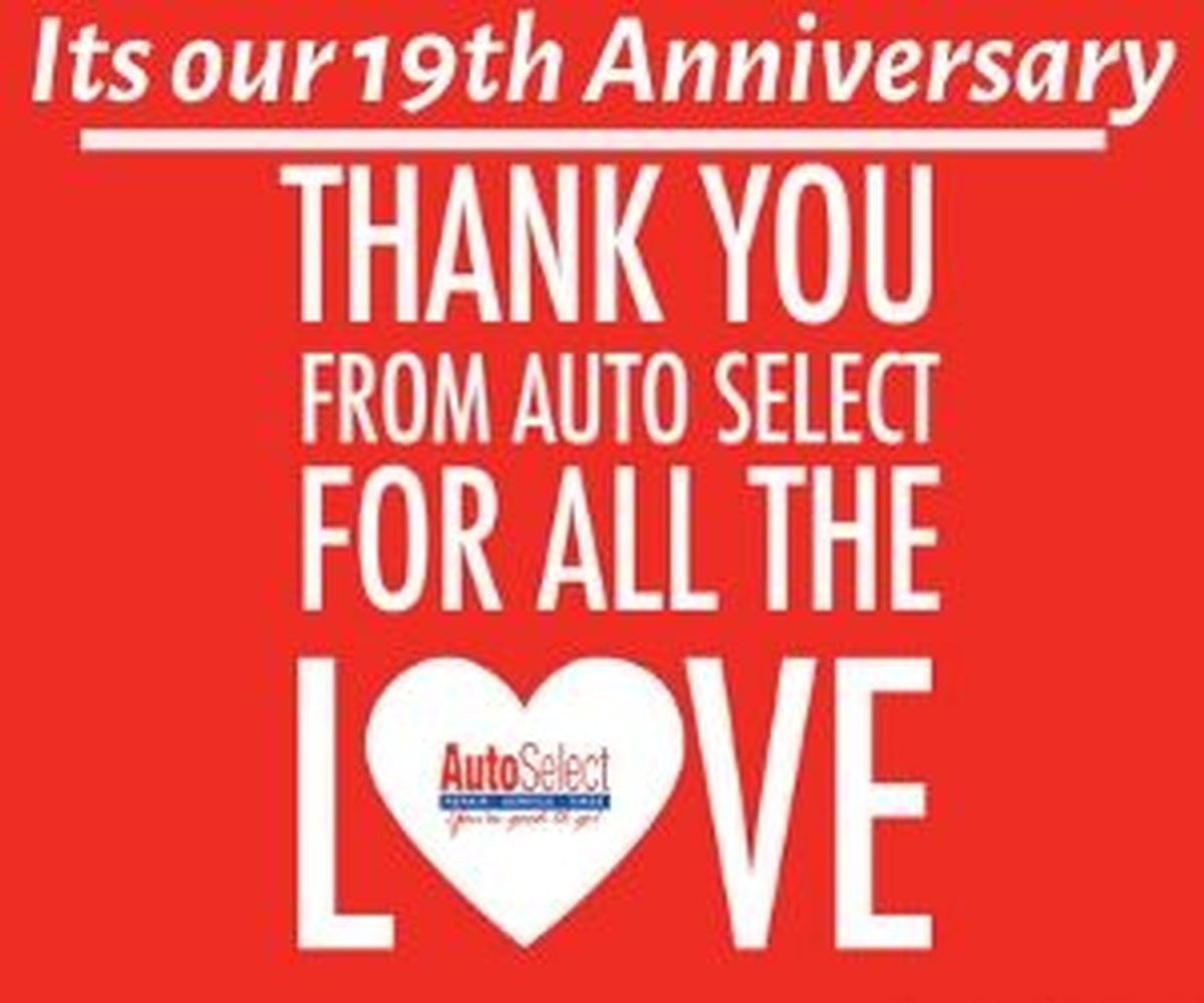 Auto Select is Celebrating its 19th Anniversary and Giving Back to our Local Community