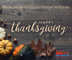 Happy Thanksgiving from Auto Select