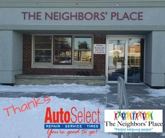Community Support Partner - Auto Select supports the Neighbors Place in Wausau