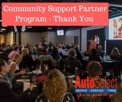 Community Support Partner - Auto Select supports the Pecha Kucha Event in Appleton