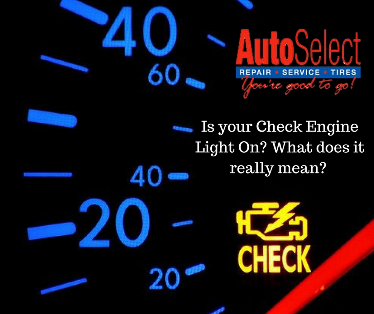 Check Engine Light Flashing >> Is Your Check Engine Light On What Does That Really Mean