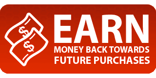 Earn Money Back Towards Future Purchases