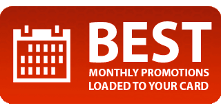 Best Monthly Promotions Loaded to You Card