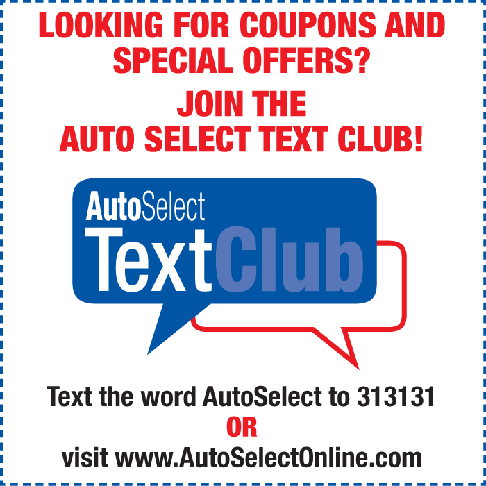 Don't miss out!  Car Repair Text Message Specials in Appleton, WI