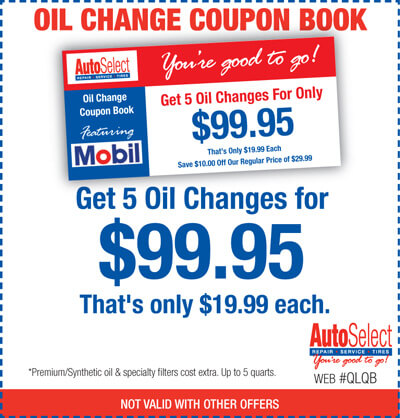 Don't wait! Cheap oil change coupon books in Schofield, WI