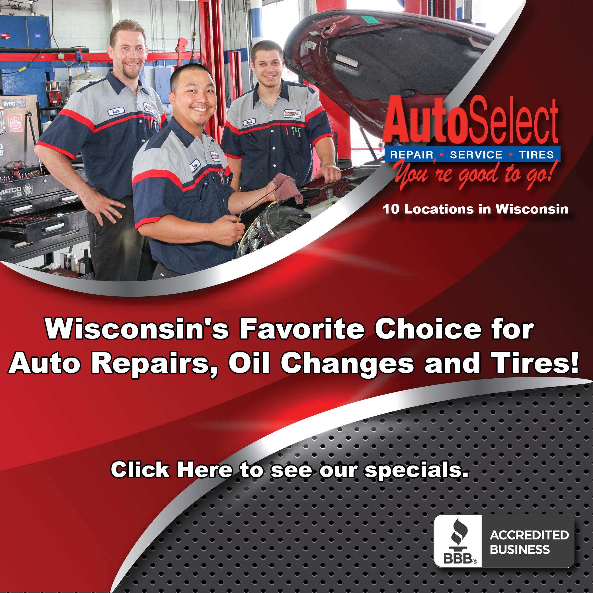Tires Shop in Neenah WI