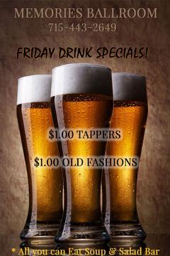 Friday Specials!