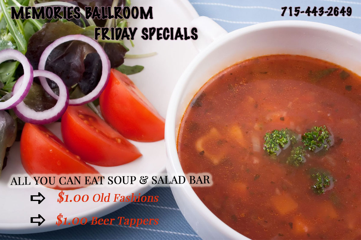 All you can eat Soup and Salad Bar in Marathon County, WI