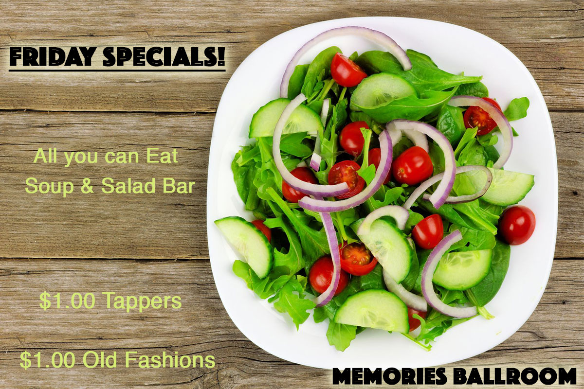 All you can eat Soup and Salad Bar in Central Wisconsin