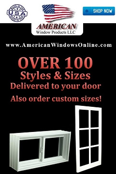 Brand New! Affordable PVC Hinged Basement Windows