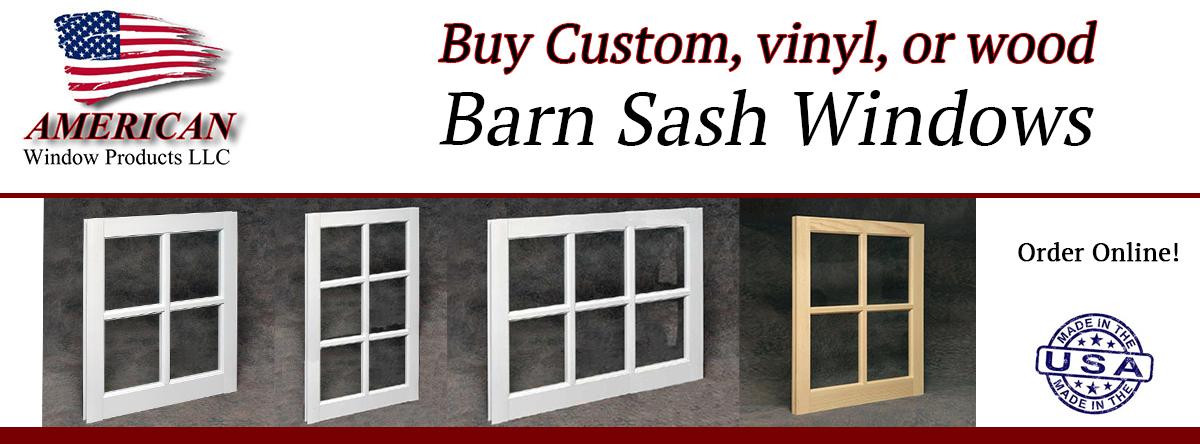 Save Now! Brand New Barn Sash Windows