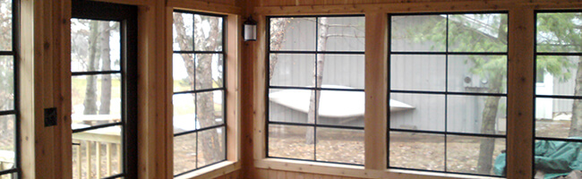 New Windows or Doors installed by a Goodwin Construction Contractor