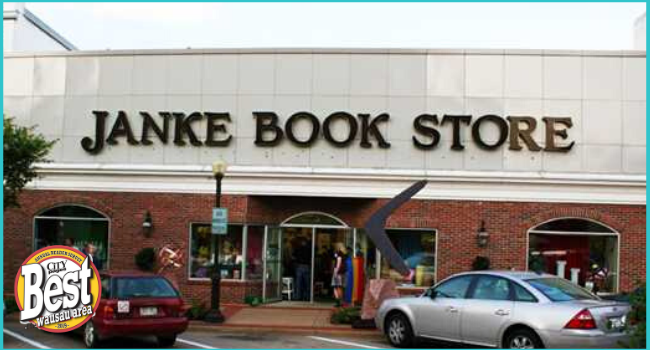Janke Book Store and Unique gifts in downtown Wausau WI