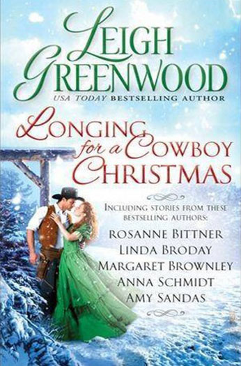 Longing for a Cowboy Christmas by Amy Sandas