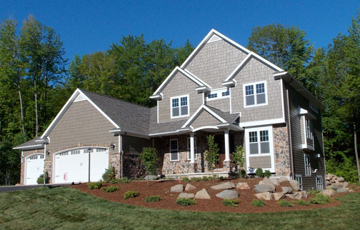 residential and parade homes by Morgan Sand and Gravel, LLC