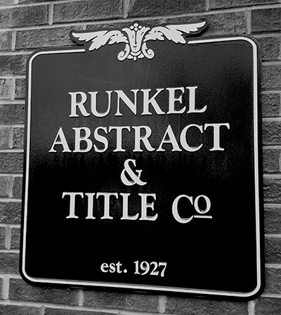Runkel Abstract & Title Company