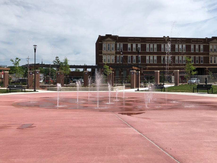 Wenzel Family Plaza