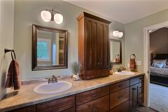 Acadia, Bathroom, Cabinetry, Countertop