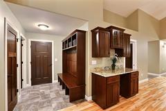 Acadia, Flooring, Cabinetry, Entry, Countertop