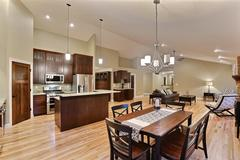 Acadia, Kitchen, Dining Room, Living Room