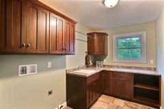 Acadia, Laundry Room, Cabinetry