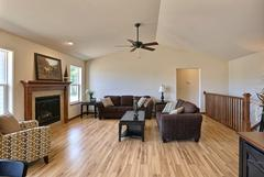 Azalea-II, Living Room, Flooring, Fireplace