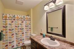Azalea, Bathroom, Countertop, Cabinetry