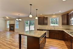 Azalea, Kitchen, Dining Room, Living Room, Cabinetry, Countertop