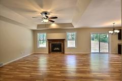 Azalea, Living Room, Fireplace, Flooring