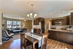 Mocha, Dining Room, Living Room, Kitchen