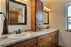 Orchid-II, Bathroom, Cabinetry, Countertop